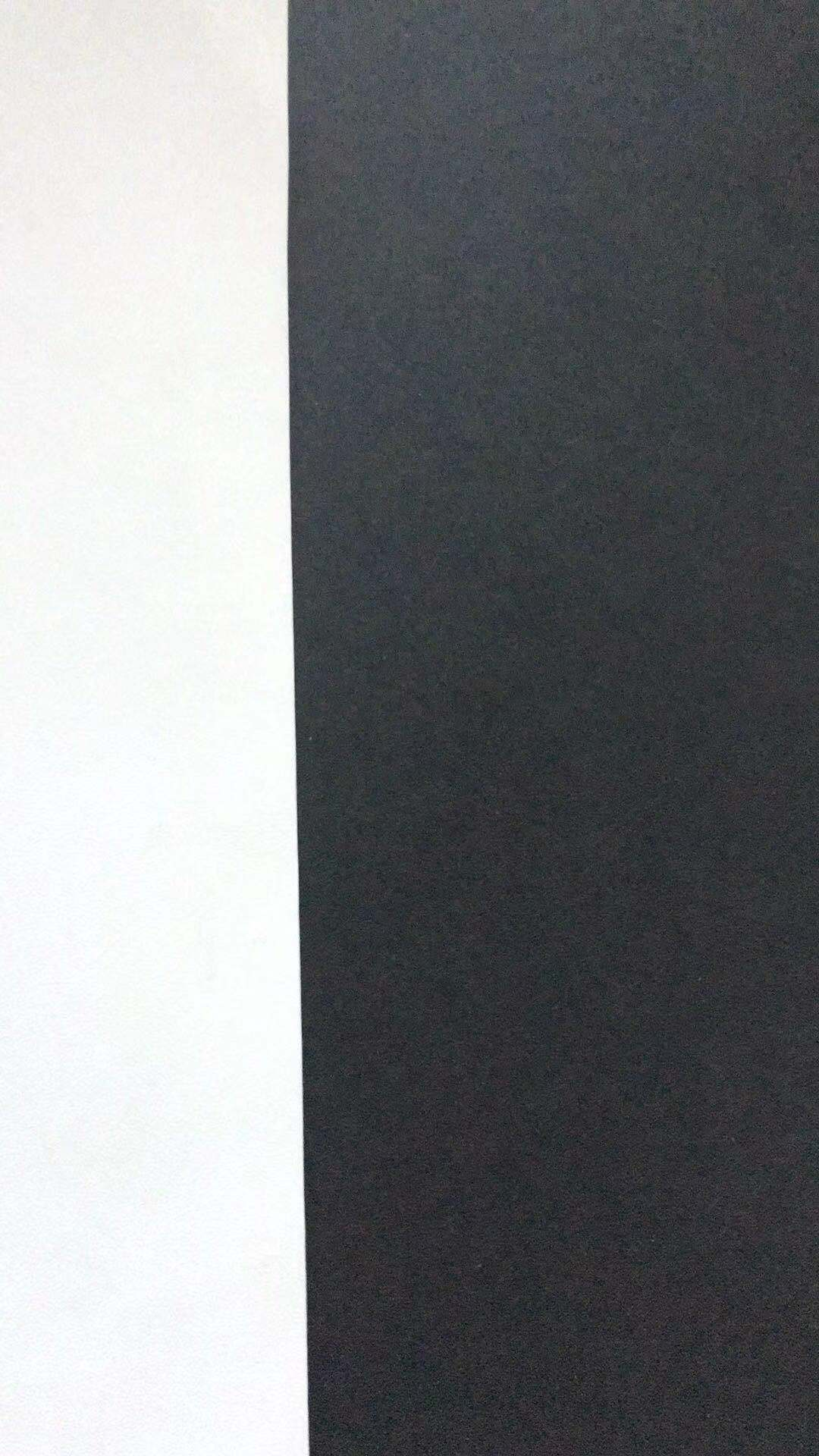 One Side White Coated Black Paper