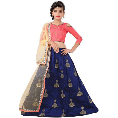 Kids Party Wear Lehenga