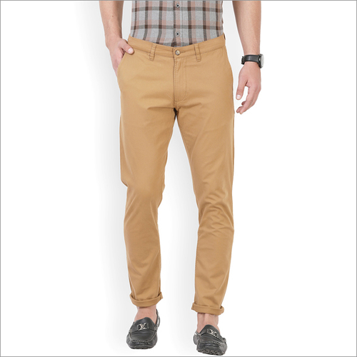 Mens Brown Trouser