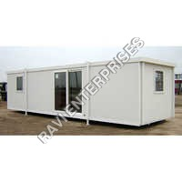 White Portable Office Cabin