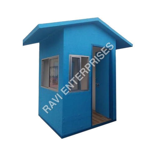 Prefabricated Portable Security Guard Cabin