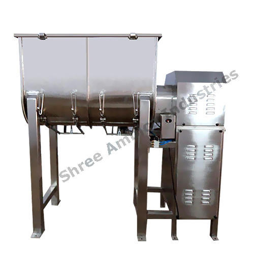 Semi Automatic Ribbon Blender Mixer