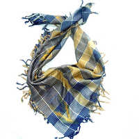 Square Check Scarves
