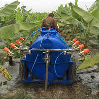 Tractor Attached Spraying Unit For Banana Code Spt 5a Ssa Tft Bt