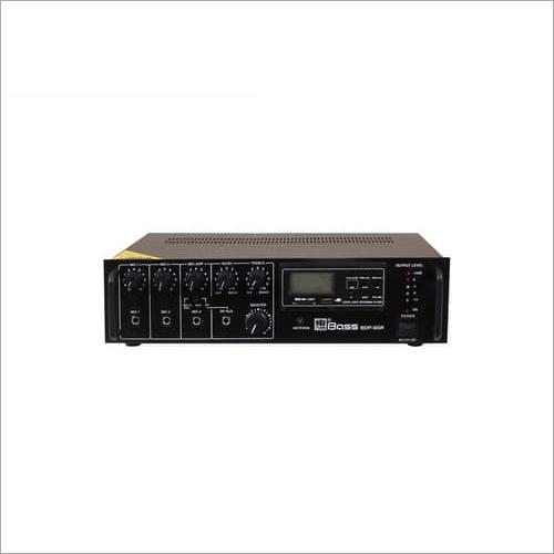 65 Watt Digital Player PA Mixing Amplifier BDP-65R