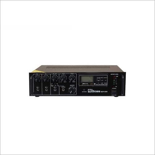 65 Watt Digital Player PA Mixing Amplifier BDP-65R