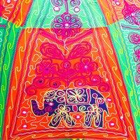 Rajasthani Sun Umbrellas Handmade Cotton Banjara Work Fashion Umbrella