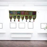 Indian Home Bandanwar Door Hangings Green Rajasthani Gate Toran