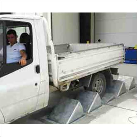Truck Wheel Stopper Vehicle Restraint