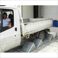 Truck Wheel Stopper Vehicle Restraint