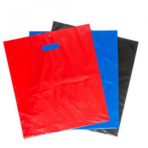 HDPE Die Cut Handle Plastic Bag