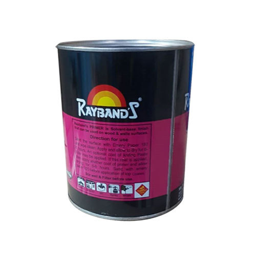 Printed Paint Tin Container