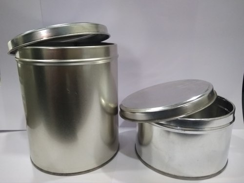 Simple food Tin Containers