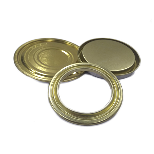 Tin Container Bottom Lid