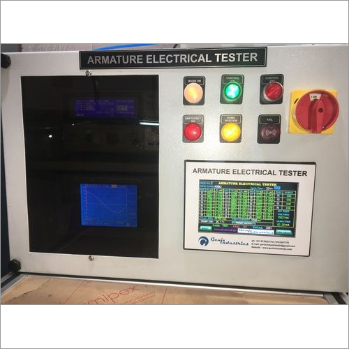 Armature Electrical Testing Machine