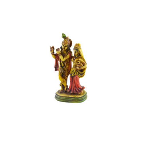 Handmade Radha Krishna statue