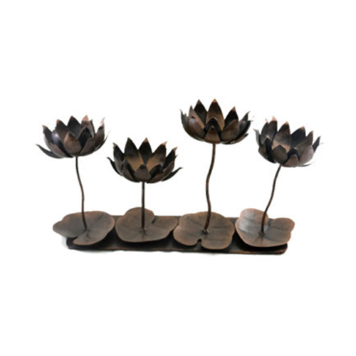 Lotus Shape T-Light Holder