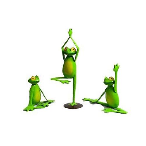 3 Yoga Frog Set