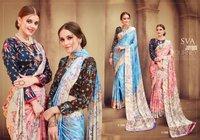 Fancy Silk Printed Sarees