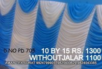 Beautiful parda tent fabric
