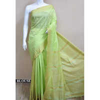 Ladies Green silk sarees