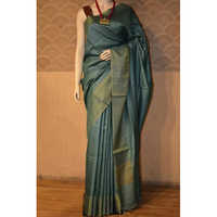 Ladies Munga Tussar Silk Sarees