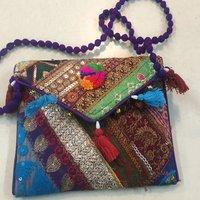 Indian Vintage Banjara Handmade Clutch Bag