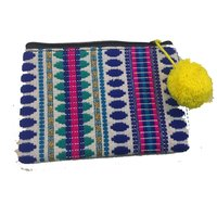 Indian Dari Vintage Tribal Dhobi Style Pouch Bags