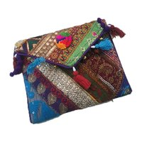 Indian Vintage Banjara Handmade Clutch Bag