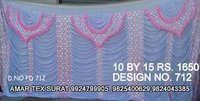 Tent parda design fabric