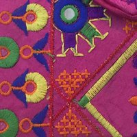 Embroidery Wedding Collection Bohemian  Rajasthani Jaipuri Clutch Bag