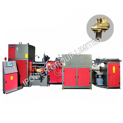 Four Way LPG Valve Horizontal Hot Forging Press Machine