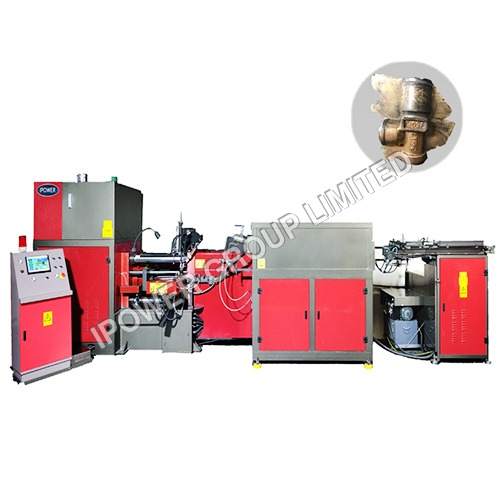 Three Way LPG Valve Horizontal Hot Forging Press Machine
