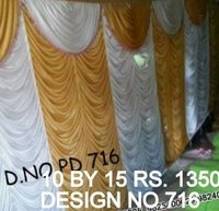 Tent parda new design fabric