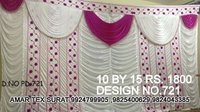 New designer parda fabric