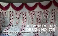 Tent house parda design