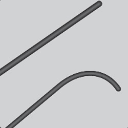 Hydrophilic Nitinol Guidewire