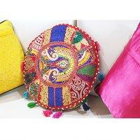 Banjara Patch Work Indian Handmade Royal Rajasthani Cushion Cover