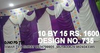 Tent house parda design fabric