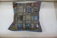 Banjara Throw Handmade Embroidery Bohemian Home Decor Boho Cushion Cover