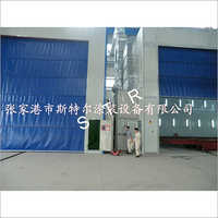 Becker sandblasting spray booth