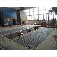 Motor Sandblasting Room