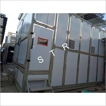 Enico Sandblasting Room