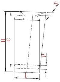 STPL:LMD-400 Automatic High Speed Food Paper Bag Making Machine