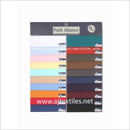 Satin Shirting Fabrics