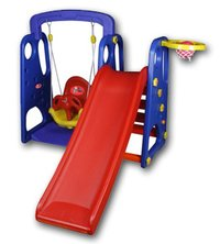 SP 105 Park slide with swing