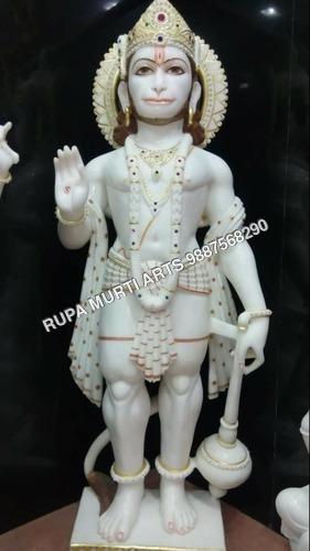Stone Hanuman Marble Statue