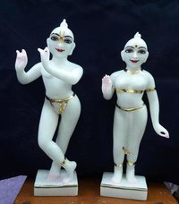 Stone Radha Krishna Marble Statue