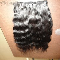 Wholesale Cuticle Aligned Raw Indian Hair Bundles Weave  100% Human Hair Extension