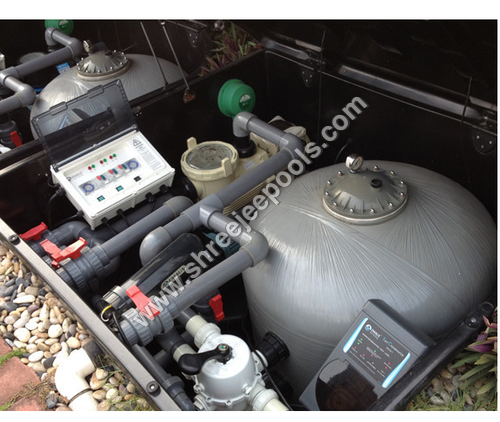 Swimming Pool In-Ground Filtration Combo